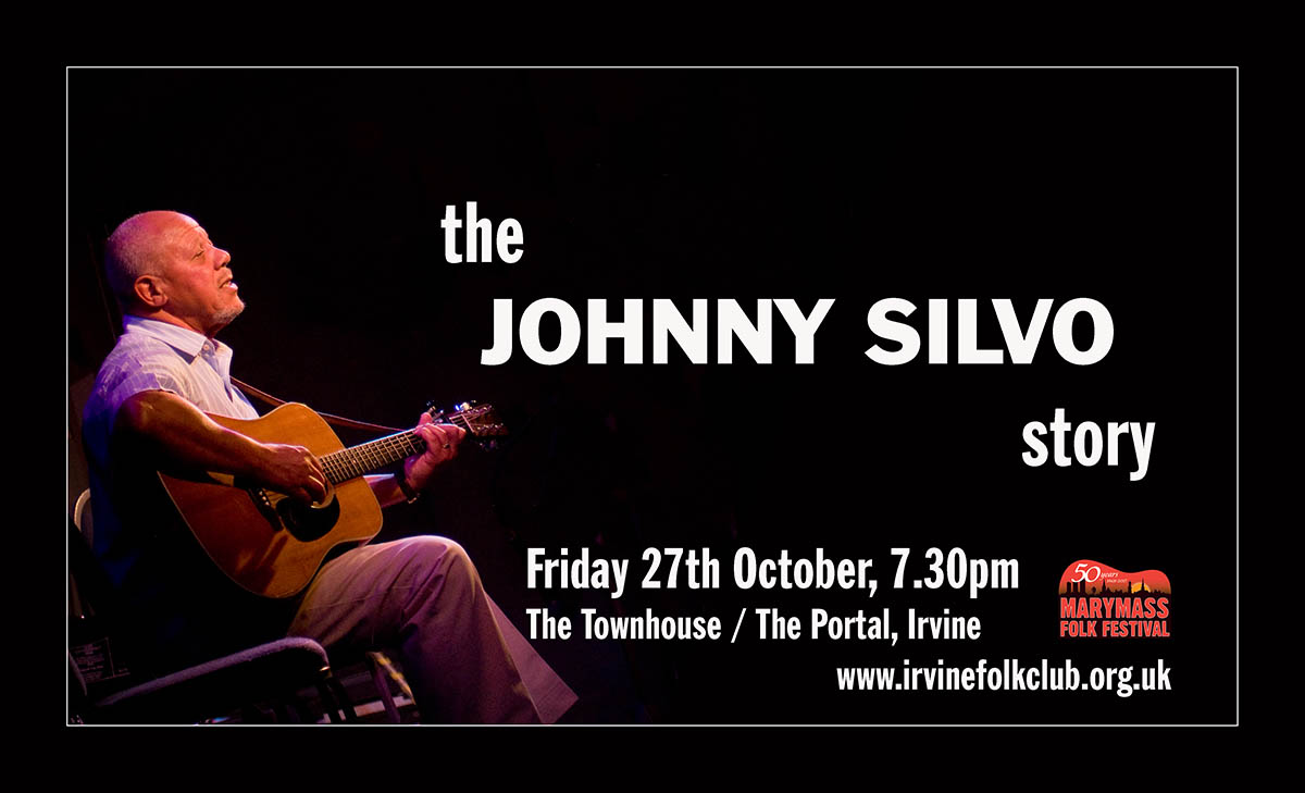 The Johnny Silvo Story - Photo and concert details 27th October 2017