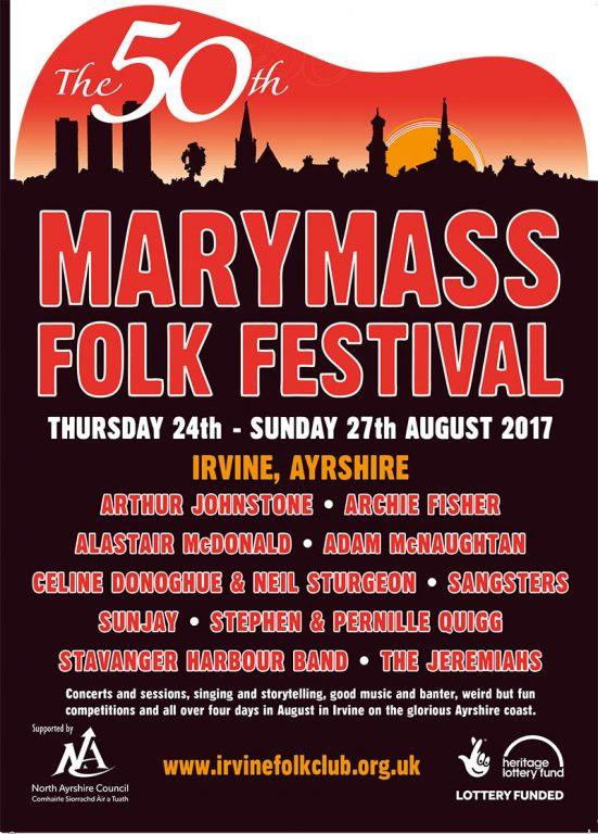 Marymass Programme Leaflet