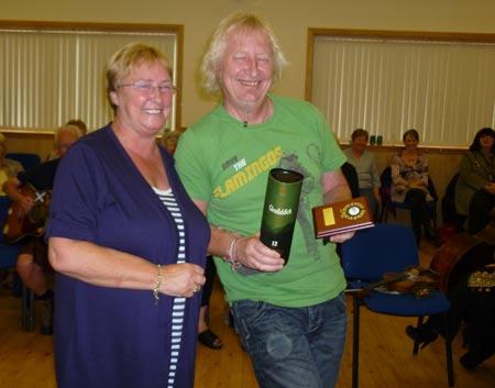 Winner of the Marymass Whammy Diddling championship
